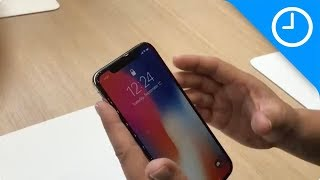 First look: iPhone X!