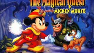 The Magical Quest Starring Mickey Mouse Music Treetops