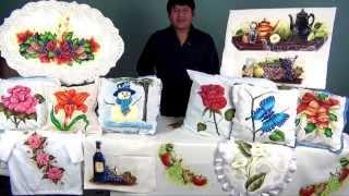 Como Dominar El Arte De La Pintura Decorativa En Tela (1/4