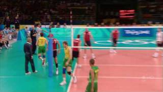 (HD) Murilo Huge Kill Volleyball