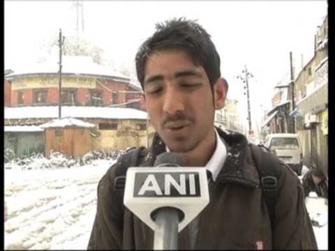 Fresh spell of snowfall in Jammu and Kashmir
