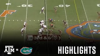 Football Highlights | Texas A&M vs. Florida