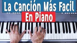 Canciones fáciles en piano para principiantes