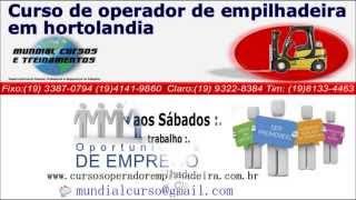 Curso Operador de Empilhadeira Indaiatuba   - youtube