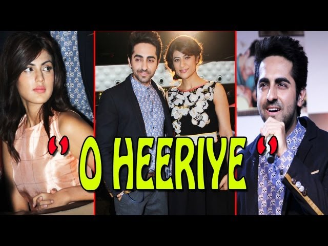 Ayushmann Khurana Launch His Music Single ''O Heeriye''