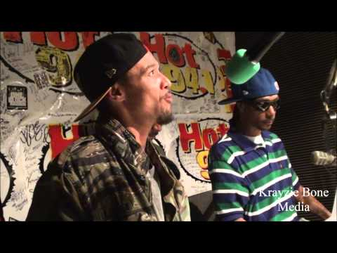 Bone Thugs interview w/  Bakersfield's HOT 94.1
