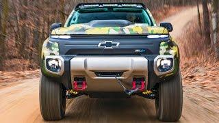 Chevrolet Colorado ZH2 – Production, Offroad Test, Design [YOUCAR]. YouCar Car Reviews.