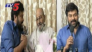 Chiranjeevi Wishes to K. Viswanath for Getting Dada Saheb ..