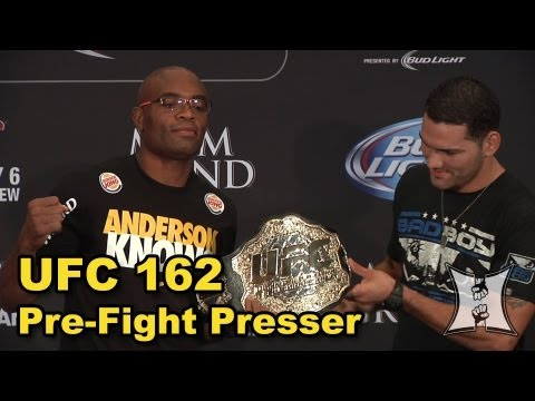 UFC 162 Pre-Fight Press Conference: Anderson Silva vs Chris Weidman (LIVE! / complete + unedited)