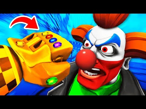 DESTROYING CLOWNS With SECRET GAUNTLET In Virtual Reality (Path of the Warrior VR Funny Gameplay)