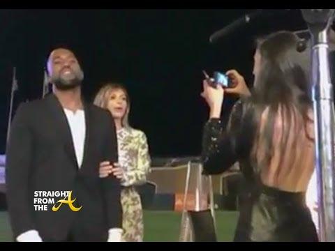 Actual Video of Kanye West Proposing to Kim Kardashian...
