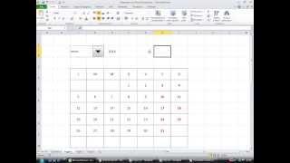 Calendario Automatico Con Excel
