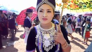 BEAUTIFUL HMONG GIRL IN LAOS NEW YEAR 2013- HNUB YAJ- FREE