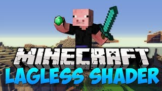 Minecraft Mods - LAGLESS SHADER | BETTER THAN SEUS COMPARISION (HD)