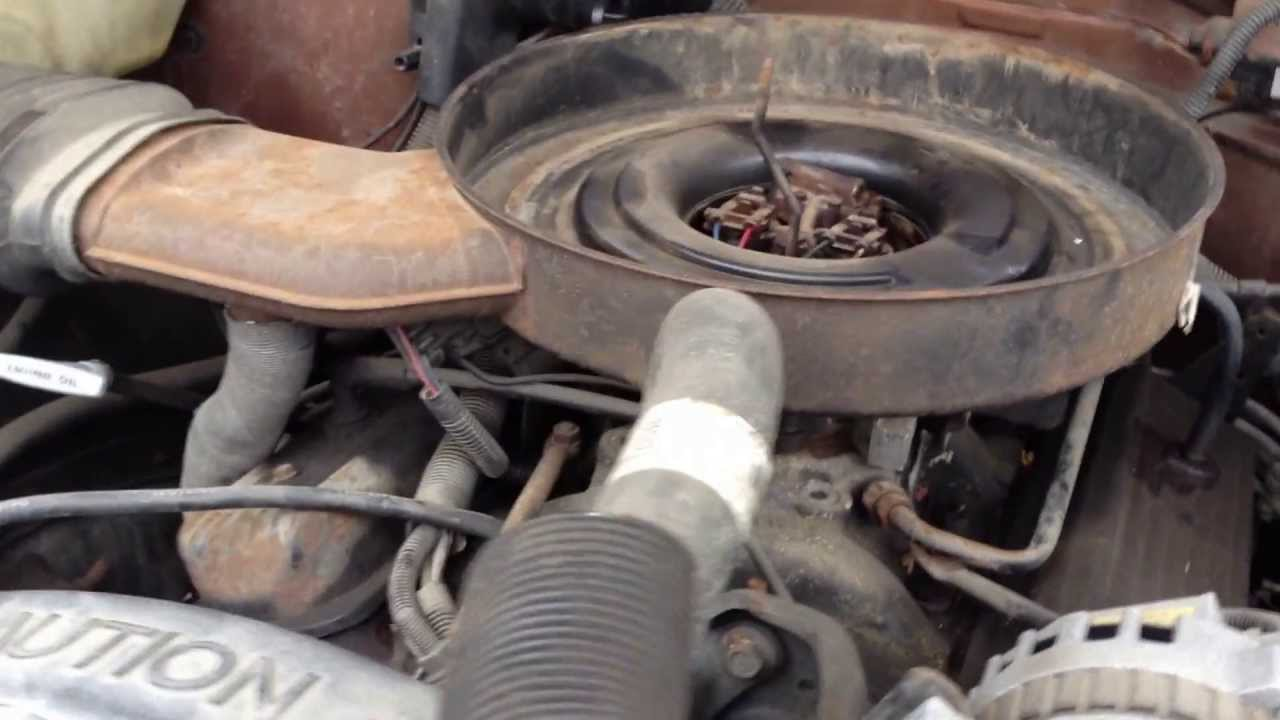 1989 chevy ck 1500 350 4x4 truck engine youtube for 350 chevy truck motor