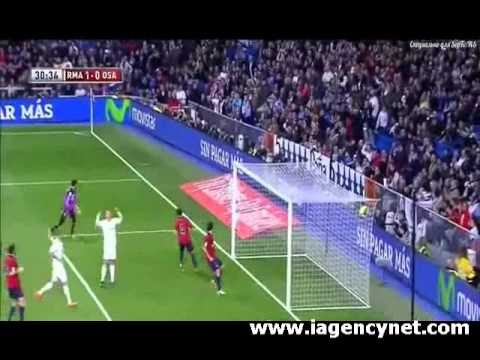 Real Madrid 2 - 0 Osasuna Highlights - iAgencyNet.com