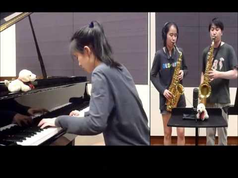 巫启贤-邂逅-《我的朋友,我的同学,我爱过的一切》That Girl in Pinafore-Sax & Piano Cover by Jeremy & Elizabeth