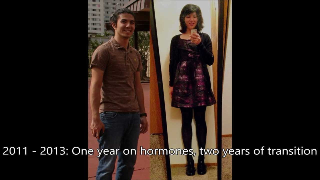 Just Another Transition Video - 1yr HRT [mtf] - YouTube