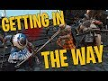 Getting in the Way For Honor