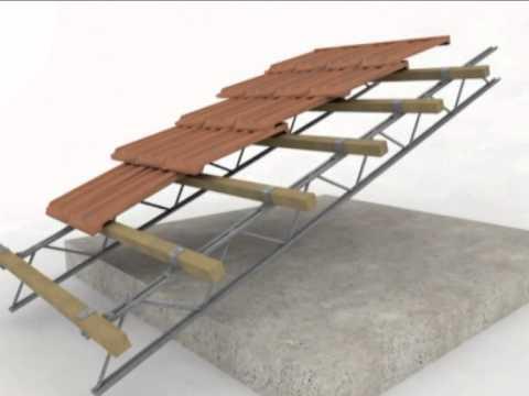 Pacchetto tetto ventilato in legno