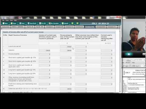 614 (Income tax) How to adjust losses in tax return (AY 2014 15 )