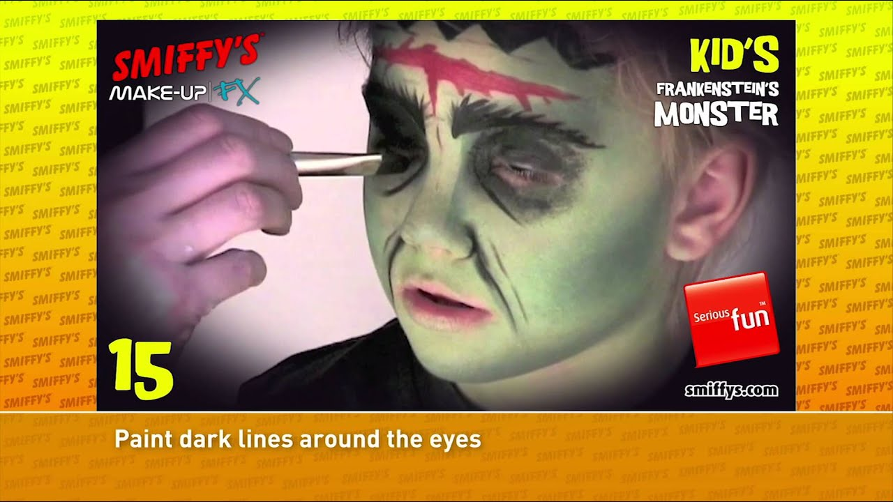 ... Halloween Face Painting Make-up Tutorials for Children - YouTube