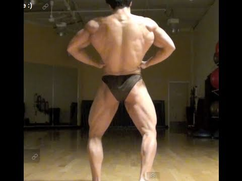 6 weeks out - MATT OGUS Natural Bodybuilder - Posing update