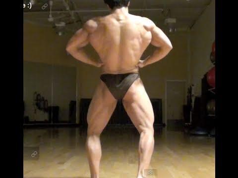 6 weeks out - MATT OGUS Natural Bodybuilder - Posing update