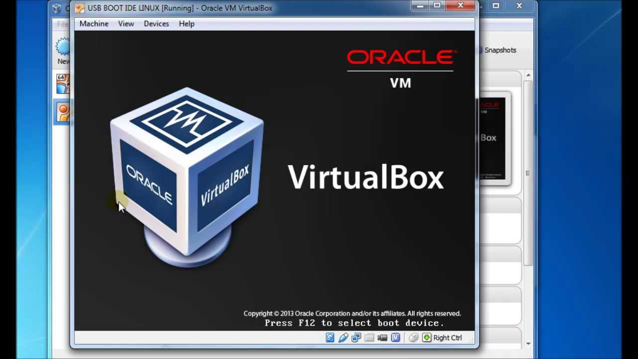 boot from a usb drive using virtualbox new method with