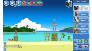 Angry Birds Facebook Gameplay