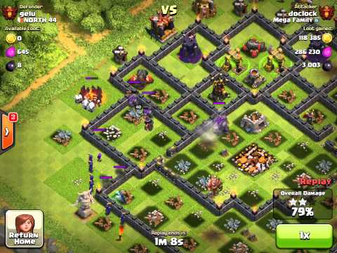 clash of clans ¨probably the last 3 star in a long time¨