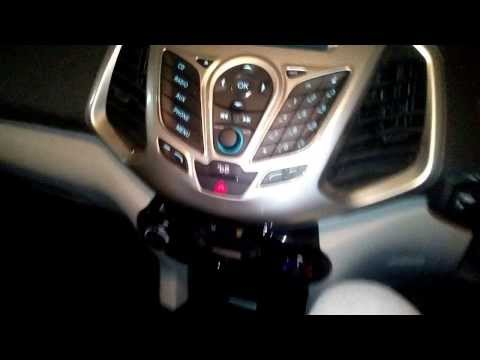 All New Ford Ecosport Titanium  Features(Music System)