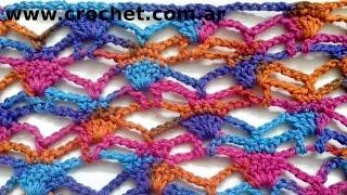 Punto N° 52 En Tejido Crochet Tutorial Paso A Paso.