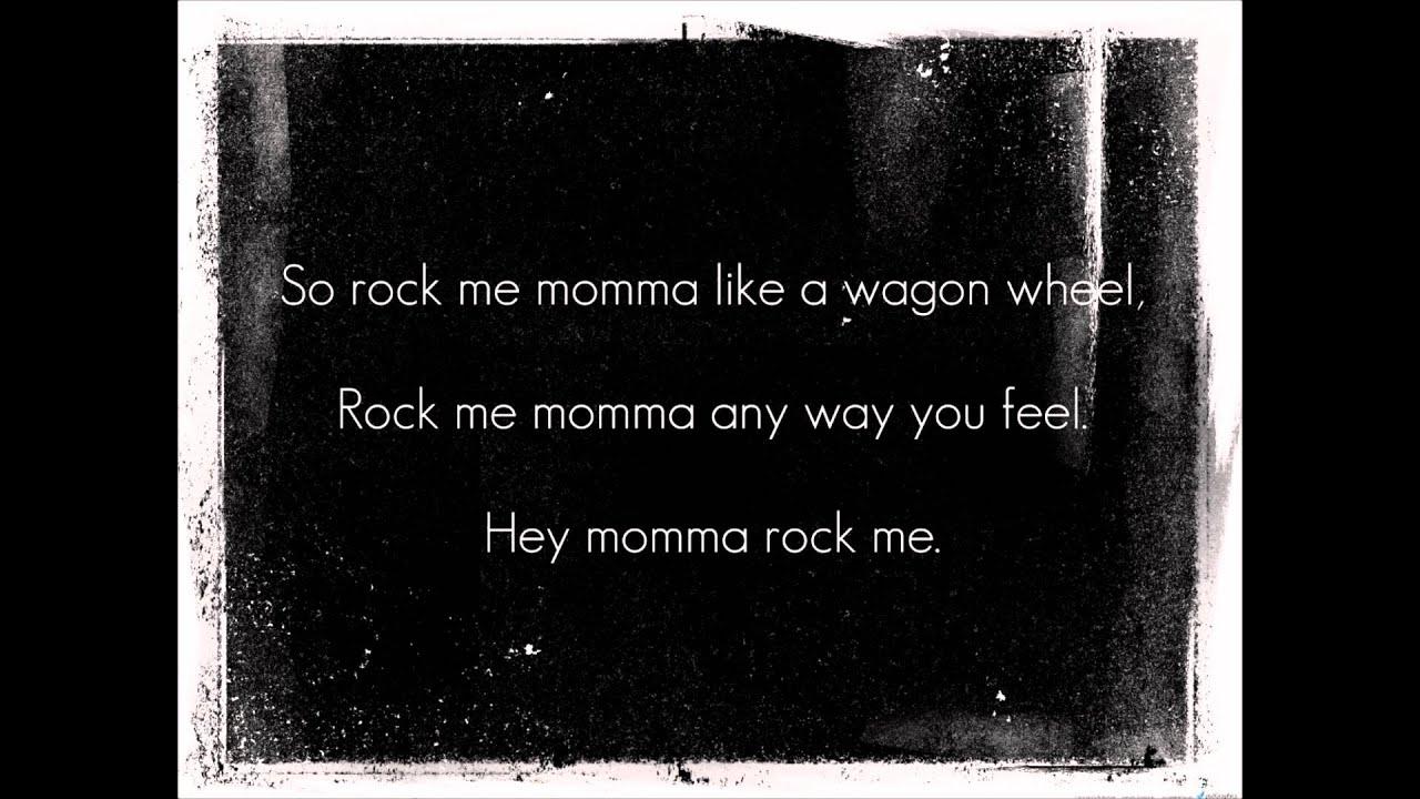 Against Me - Wagon Wheel Lyrics - YouTube