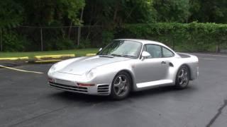 Porsche 959 starup in the US