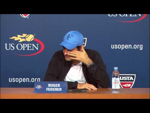 2013 US Open: Roger Federer Press Conference