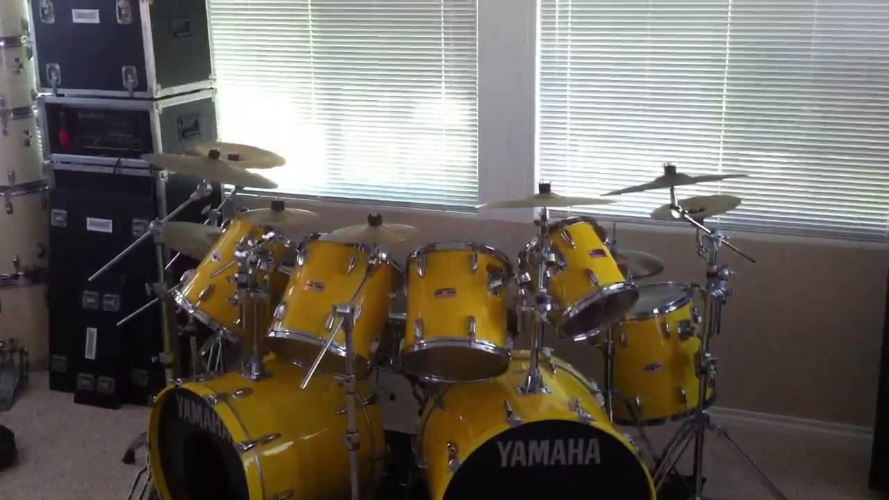 Yamaha Rock Tour Custom Drums