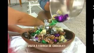 Conhe�a como funciona uma f�brica de chocolates no Sul de Minas