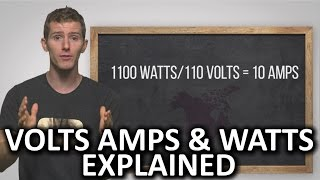 Volts, Amps, and Watts Explained