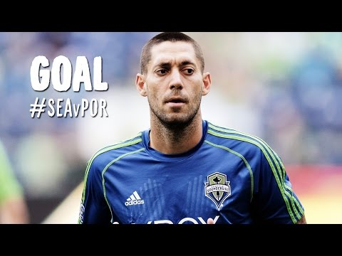 GOAL: Clint Dempsey makes no mistake on the back post | Seattle Sounders vs. Porltand Timbers