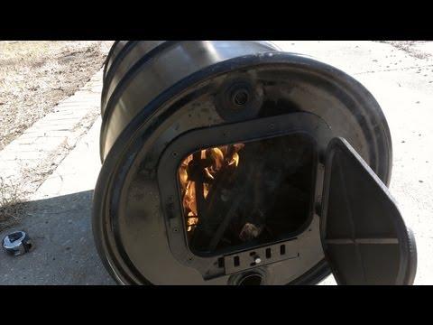 Como Hacer una estufa de leña
