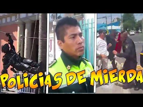 Policías:Borracho, pendejo, ogete y más