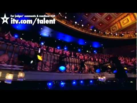 Màn nhảy đẹp mắt trong cuộc thi tìm kiếm tài năng ở Anh   VnExpress