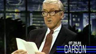 Johnny Carson: Jimmy Stewart Reads Poem for Beau the Dog, 1981