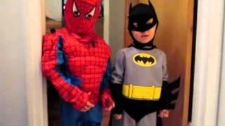 Spiderman And Batman Buddies