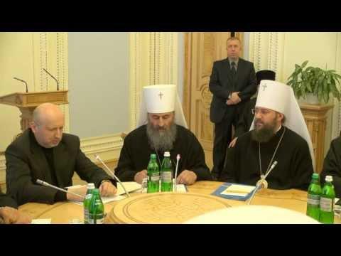 Слово митрополита Онуфрія на Всеукраїнській Раді Церков