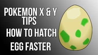 Pokemon X And Y Tips : How To Hatch Eggs Faster