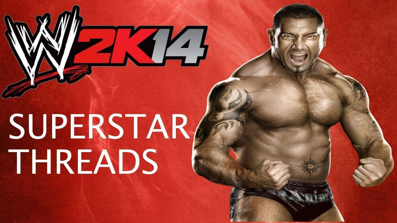 Wwe 2k14 Batista WWE 2K14 Superstar Thr...