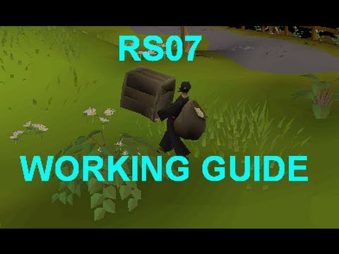 (WORKING)Runescape 2007 Glitch Guide: Box Glitch Tutorial RS07 - How To/NEW