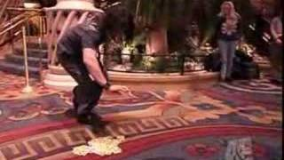 Criss Angel Mind Freak Card Trick Without Touchin It